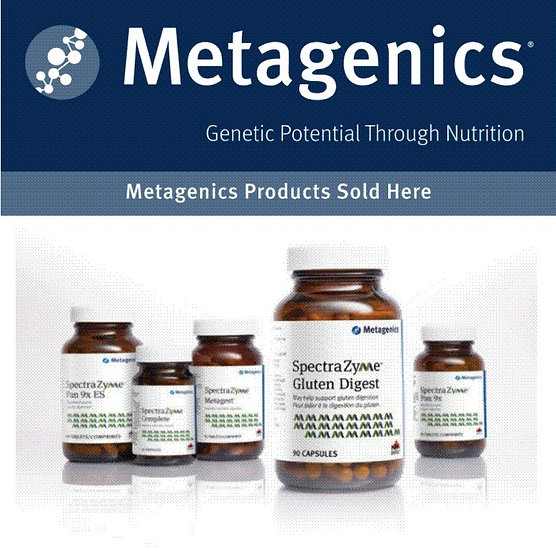 Metagenics Supplements - Link To Order Page