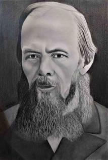 Dostoyevski Karakalem Portre