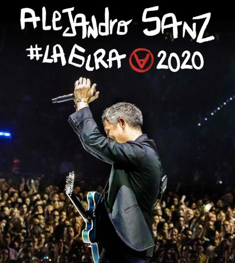 alejandro sanz la gira 2020