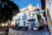 abrimos el restaurante en 1992 en la plaza Doña Elvira, centro y corazón del barrio Santa Cruz, y para celebrar el 20 aniversario abrimos un pequeño hotel boutique en el edificio colindante, el Hotel Elvira Plaza, un lujo al alcance de todos