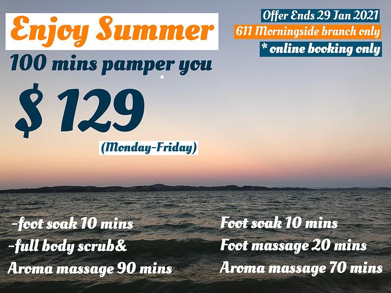 summer special price massage