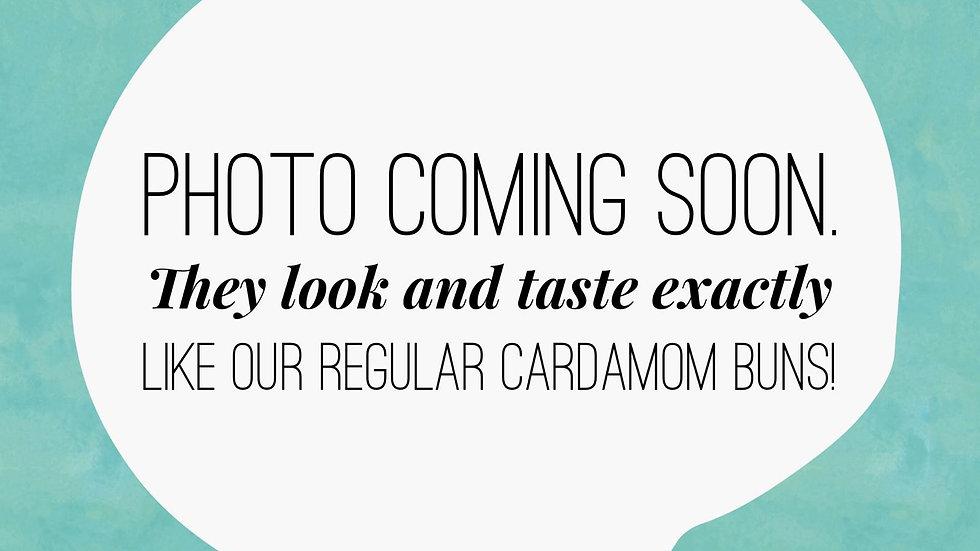 Vegan Cardamom Bun