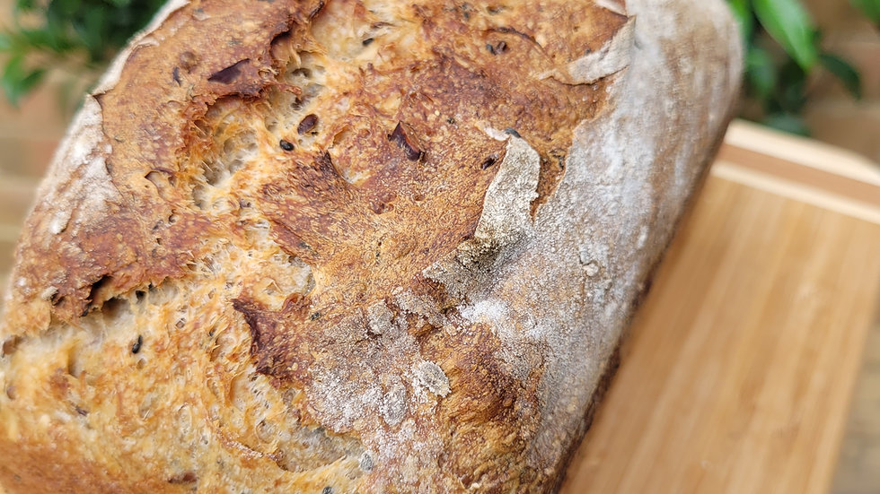Multiseed Sourdough Loaf  (800gr)
