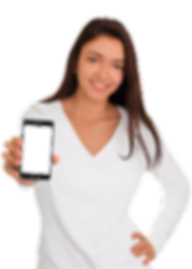 Girl-Holding-Smart-Phone---Beautiful-smi
