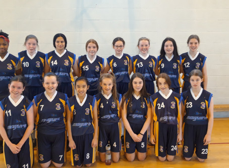 Two wins in a row for 1st year basketballers