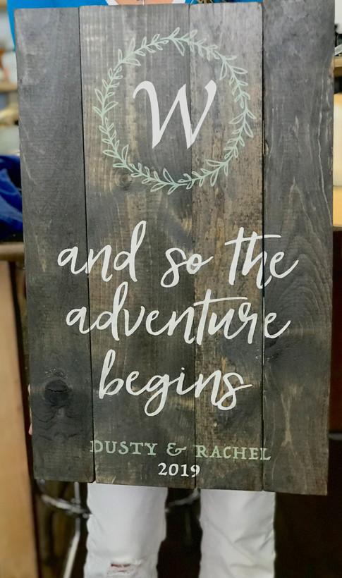 Wedding Adventure