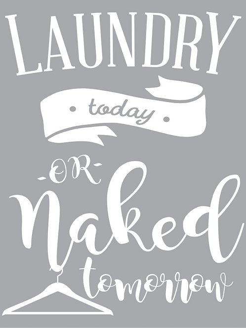 Laundry sign