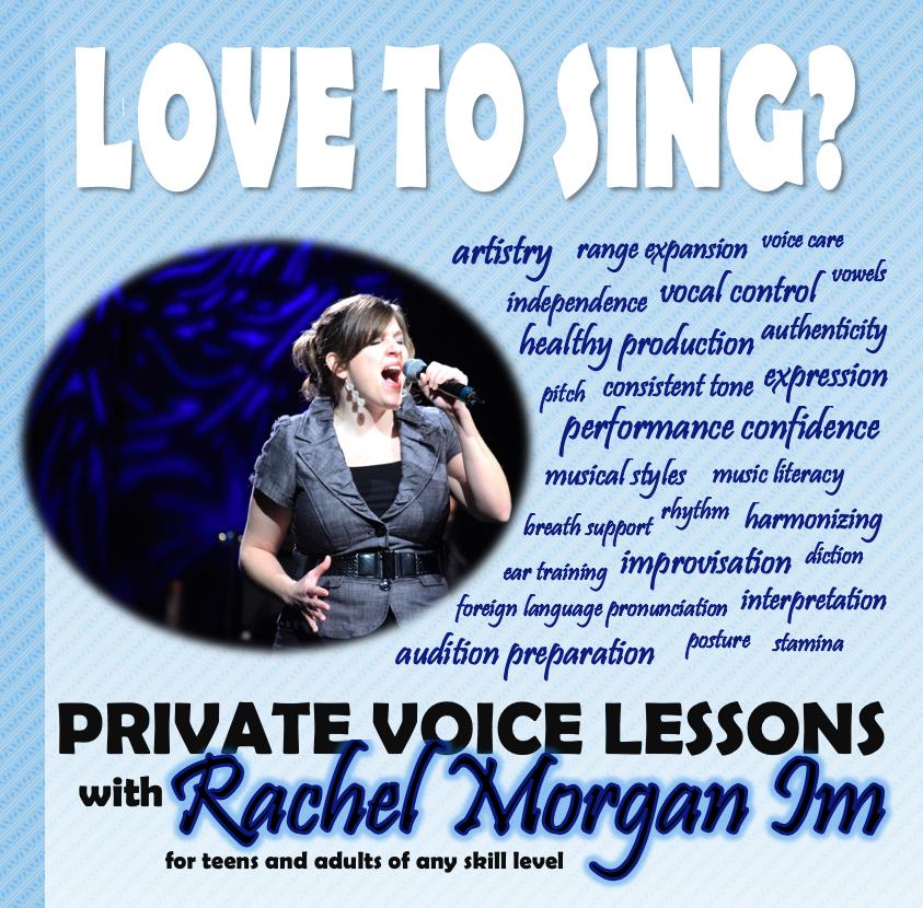 Voice Lessons with Rachel Morgan Im