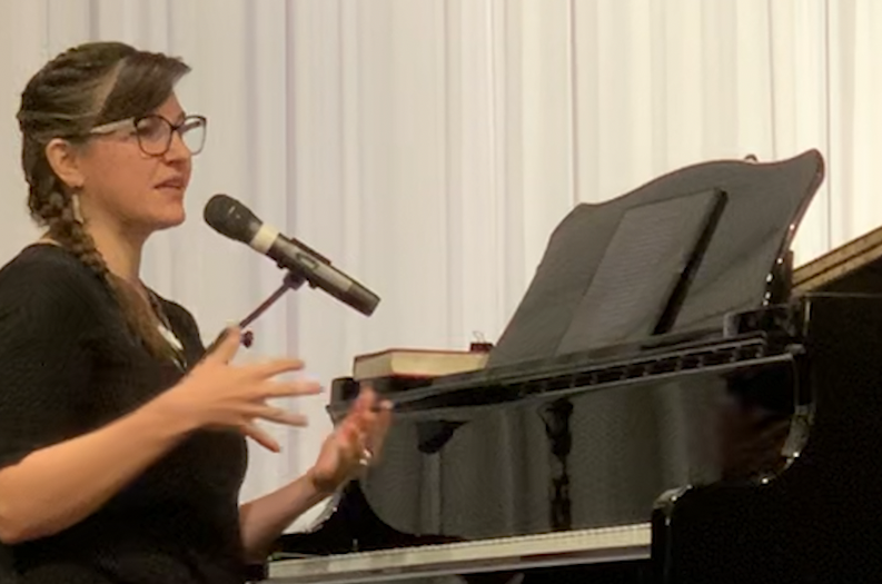 Rachel Morgan Im, worship leader