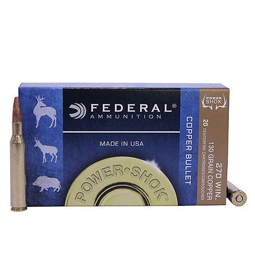 Federal Power Shok 270 WIN.