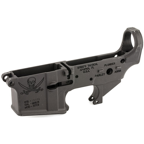 Spike's Stripped Lower (Calico Jack)