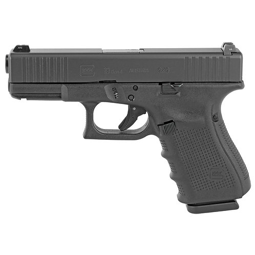 Glock 19 Gen4 9mm 15rd FS GNS 3Mags