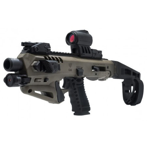 Micro Roni Stab CAA Gearup Roni Micro Extended Stabilizer for Glock 17, 22 & 31