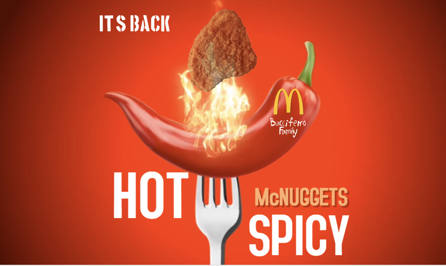 Spicy Chicken McNuggets are HERE!!