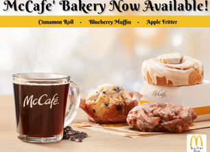 New mCafe' bakery Sweets are here!!