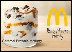 NEW caramel brownie mcflurry