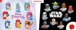 Happy Meal Star Wars/Disney Princess