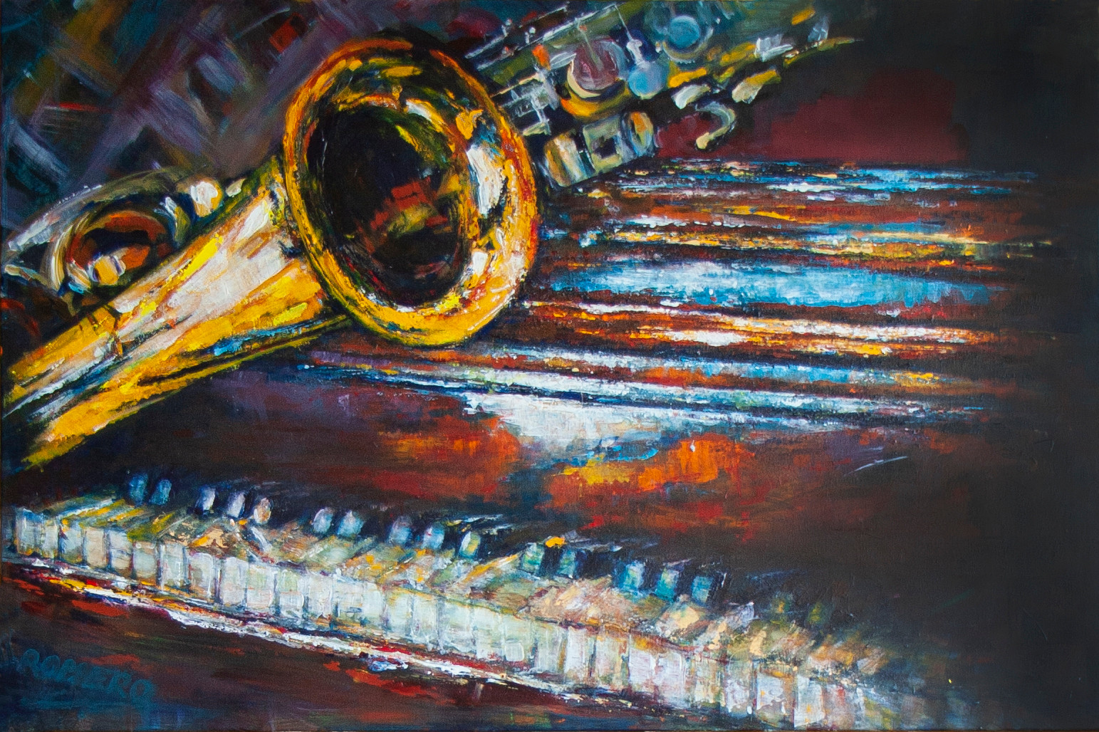 MY LOVE Dedicated to my grandfather Frans Jansen, who was a talented musician