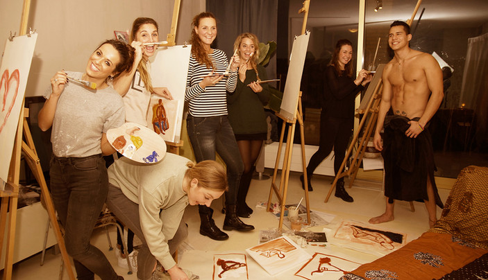 modelschilderen @ Romero Art Studio