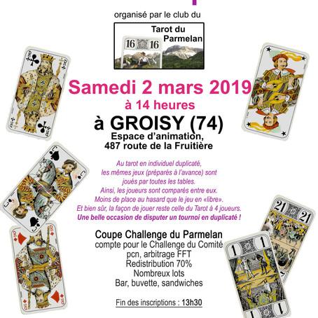 Tournoi annuel du Parmelan : save the date