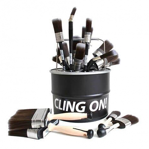 Cling On Oval Brush O35
