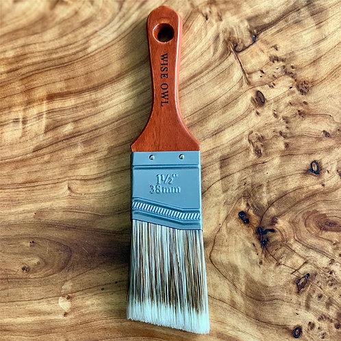 "Wise Owl Premium Angled Brush 1.5"""