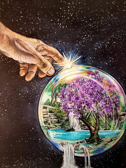 Fingerprints of God Canvas Print