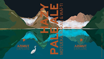 HAZY PALE ALE Motueka, Rakau & Waï-ti-v