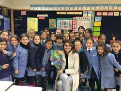 Visita Colegio Albamar