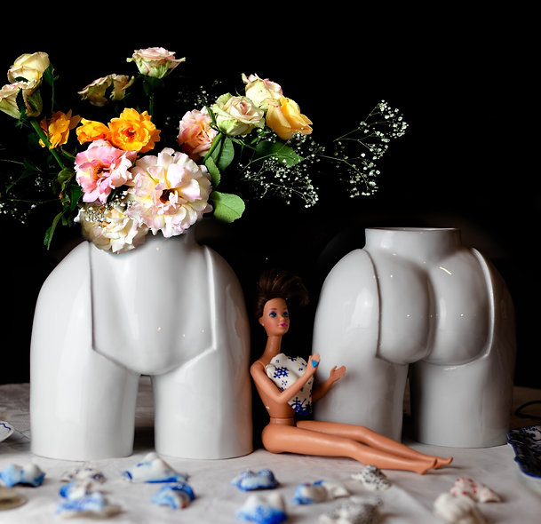 """""""La La"""" Vase Porcelain"""