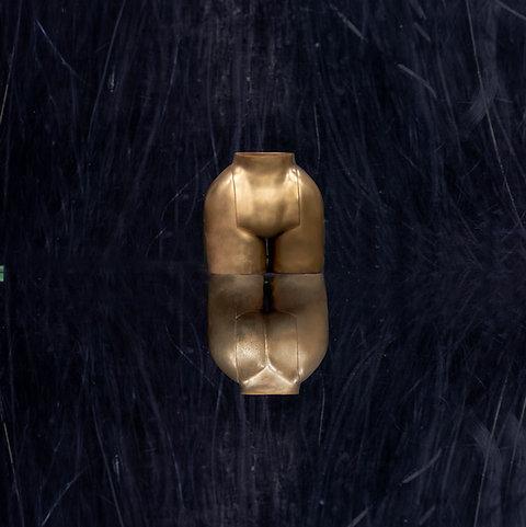 """""""La La"""" Vase BIG in Gold"""