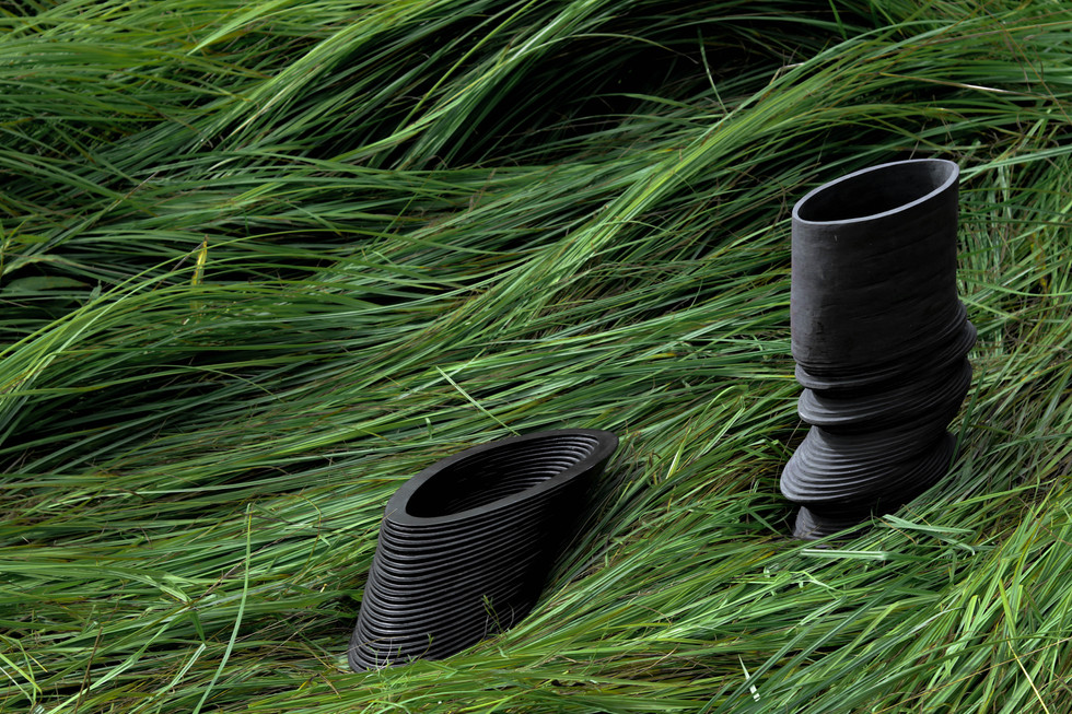 vase upss & bowl