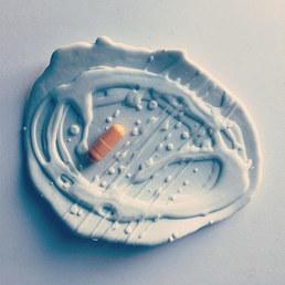 Art Bowl for Vitamins 😋⚫️🖤⬛️_Art for b
