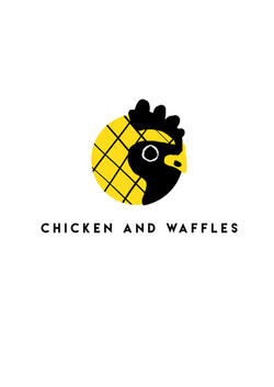 Chicken and Waffles logo