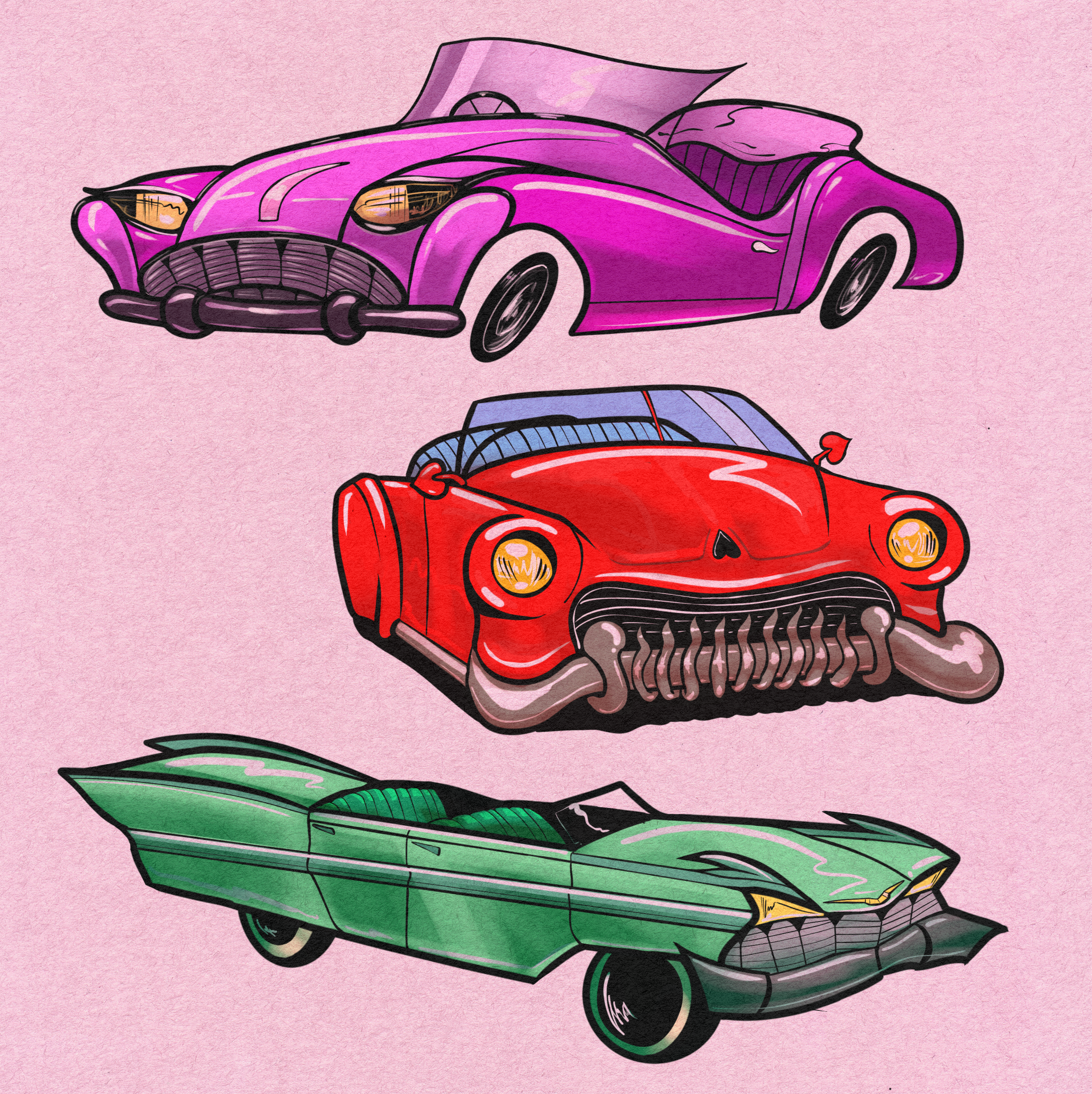 The Divil's Vehicles