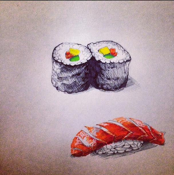 Cesca dreams of Sushi 2014