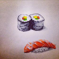 Cesca dreams of Sushi 2014