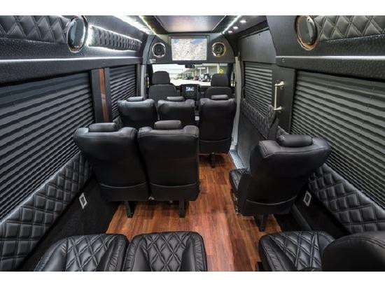 Mercedes Benz Sprinter interior
