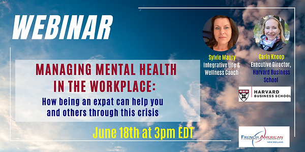 Managing Mental Health in the Workplace.