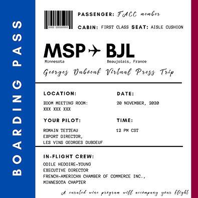 Beaujolais NOuveau boarding pass-jpg.FAC