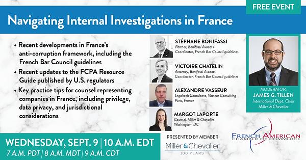 Navigating Internal Investigations in Fr