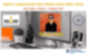 Body Language for Video and Free Tech We