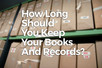 Keeping business records if you're self-employed