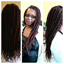 Marley Twist Done by the Kinky Twist Queen