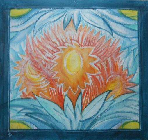 Sonnenmandala