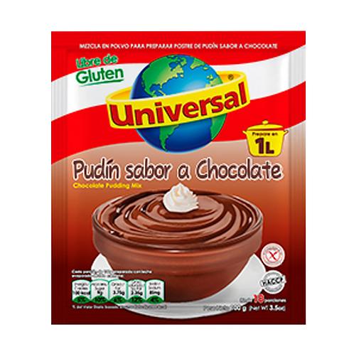 Pudin universal chocolate 100gr