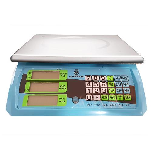 Balanza electrónica de mesa WJ26