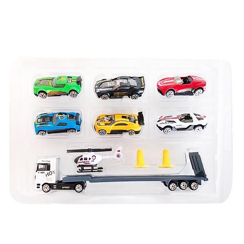 Set de vehículos de metal plástico TN-1026G