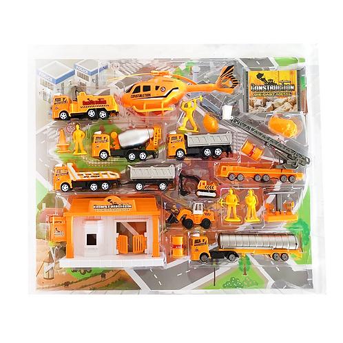 Set de construcción plástico metal
