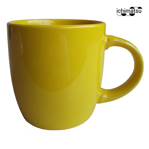 Jarro 11 onz mod. Brasil color amarillo